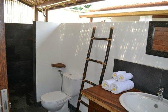 Suka's House Bed & Breakfast : tropical bathroom