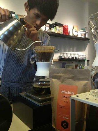 1/15 - One Fifteenth Coffee: 1/15 Coffee - Kalita Wave