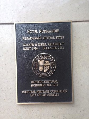 Hotel Normandie: its a historical monument