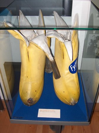 People's Palace and Winter Gardens: Banana boots!