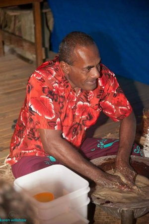 Matava - Fiji's Premier Eco Adventure Resort: Kava George