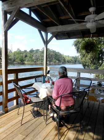 Barbara Jean's: View from the Corner Deck
