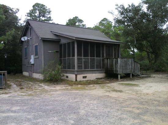 Merveilleux Gulf State Park: This Is The Cabin We Stay In During Our Visit In The
