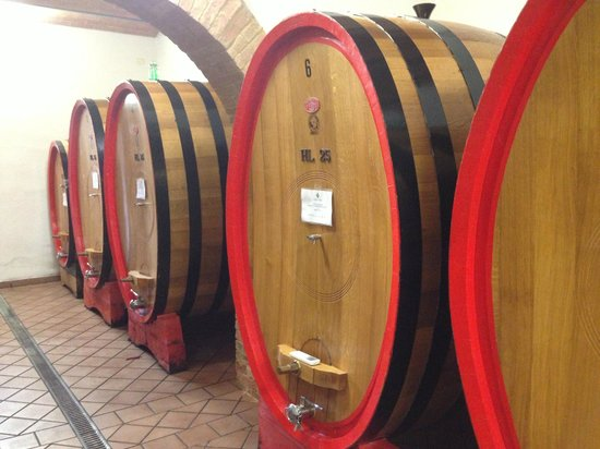 Take Me Out in Tuscany: The vats