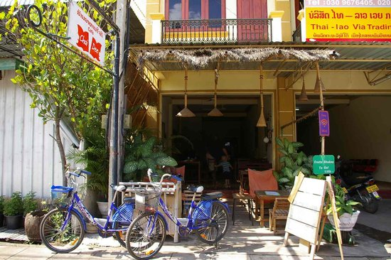 Cafe Chai Dee from the front