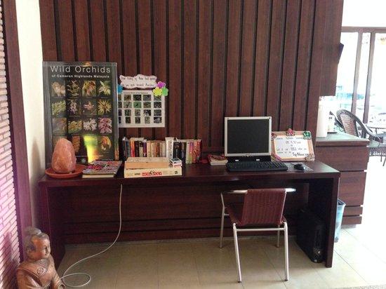 Arundina Cameron Highlands: Free use of internet and books.