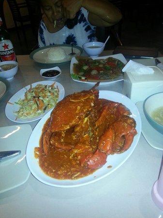 Kemayangan Bali: A must for chili crab lovers