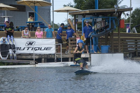 Orlando Watersports Complex : riding!