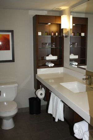 Delta Hotels by Marriott Fredericton : Bathroom