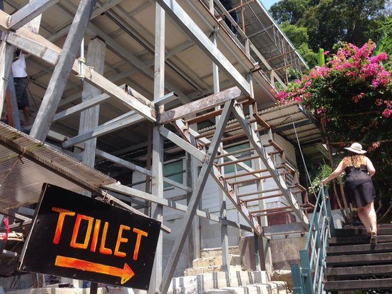 Phi Phi Arboreal Resort: The works that wake u up at 9 am
