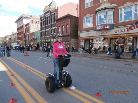 Segway of Western PA: Applefest riding track Franklin PA