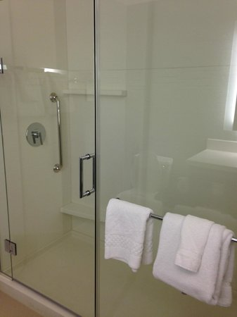 Residence Inn Tustin Orange County: Nice Shower Room
