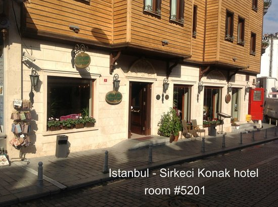 Sirkeci Mansion : Front of hotel