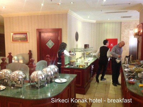 Sirkeci Mansion : Breakfast
