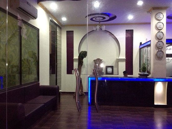 Reception of Hotel Viva Goa international after renovation