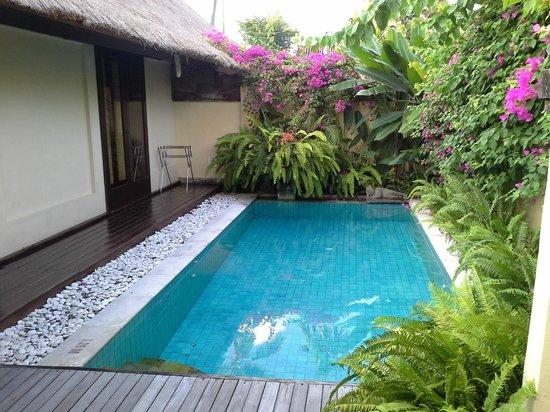 The Pavilions Bali : Наш бассейн