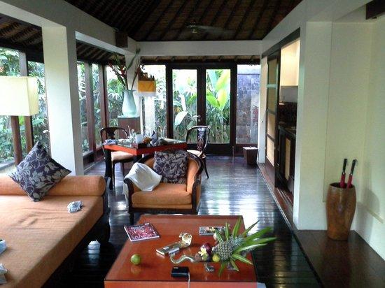 The Pavilions Bali: Гостинная