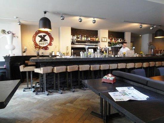 brasserie bar x press picture of grand hotel alkmaar alkmaar tripadvisor. Black Bedroom Furniture Sets. Home Design Ideas