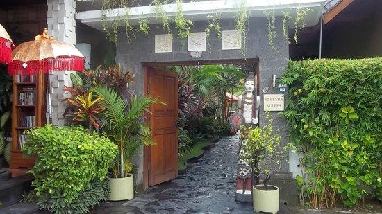 Aleesha Villas: Studio Entry