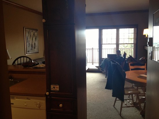 Cap Tremblant Mountain Resort: Inside of 1 bedroom condo