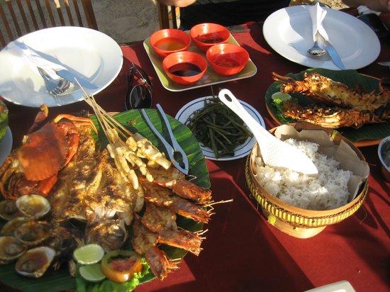 The Pavilions Bali: Jimburan dinner