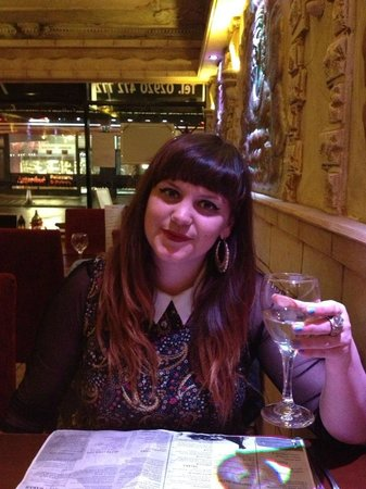 Mezza Luna: enjoying the piniot grigo
