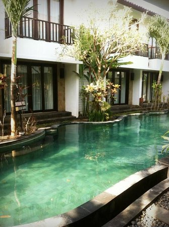 Seminyak Town House: our room view