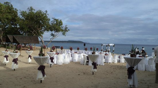 Virgin Beach Resort Beachfront Wedding