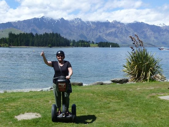 Segway on Q: Thanks for a great afternoon Sam!