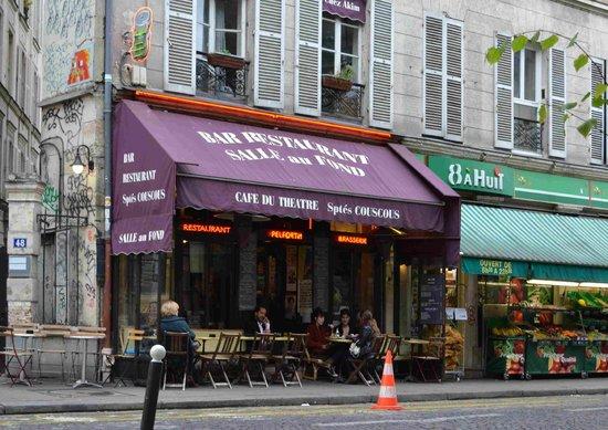 Cafe Du Theatre  Paris - Montmartre