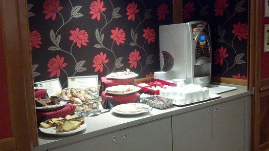 Grand Hotel Fleming : Breakfast