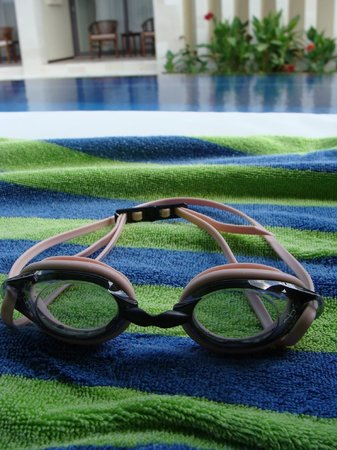 R & R Bali Bed and Breakfast Suites : My goggles are loving it!