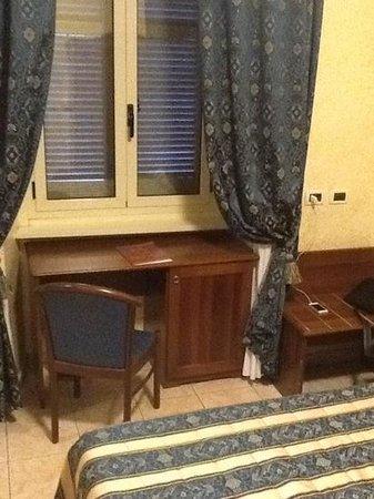 Hotel Nizza: angolo scrivania
