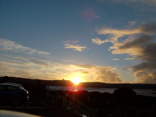 St. Ives Hotel : Sunrise -taken from St Ives Hotel Garden
