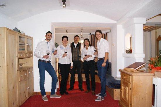 Hotel Waldruhe: Gastgeberfamilie Strasser
