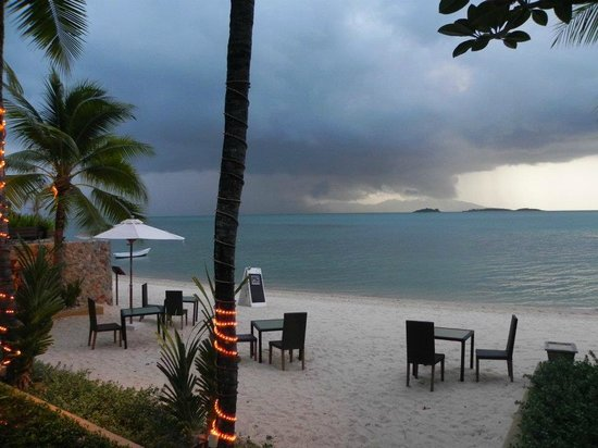 The Tongsai Bay : Just before the monsoon rain...