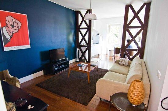 Travellers House - Studios: гостинная