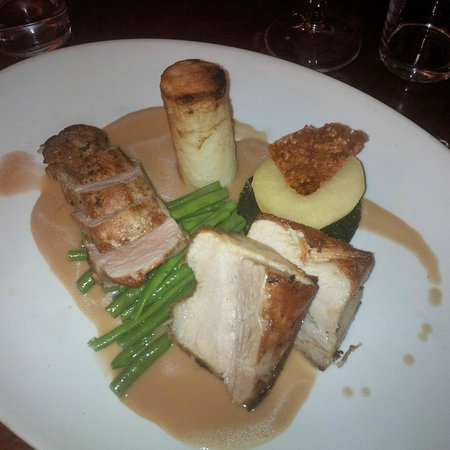 The Kings Arms at Longham: My Dorset Pork dish