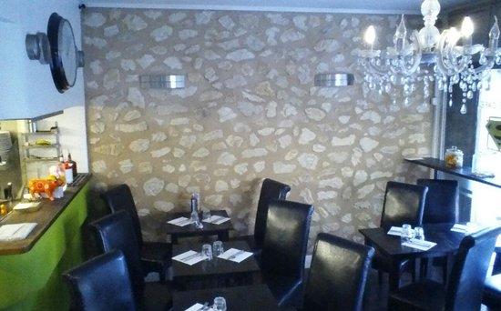 Le Square Cafe: L'intérieur