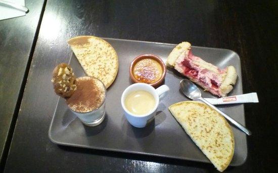 Le Square Cafe : café gourmand 7€