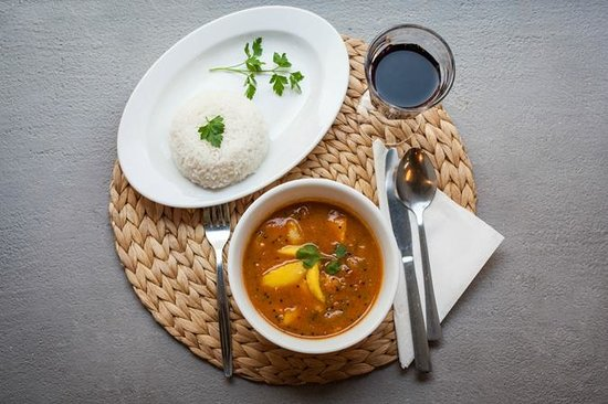 Hurry Curry Kerala fish curry with mango