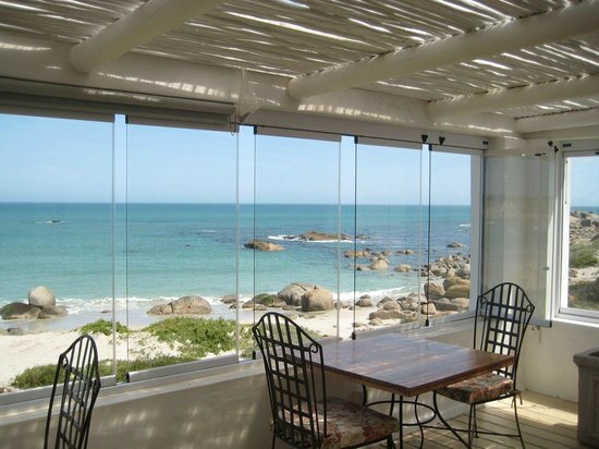 Paternoster Dunes Boutique Guest House: View from dining deck