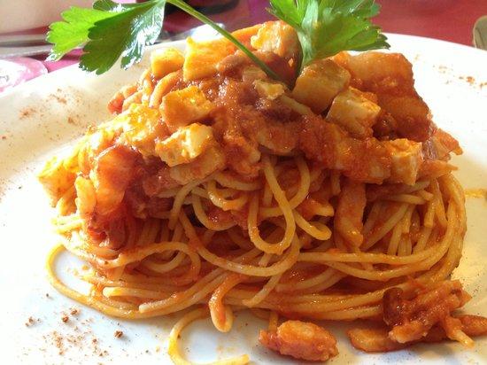La Montanara: seafood pasta