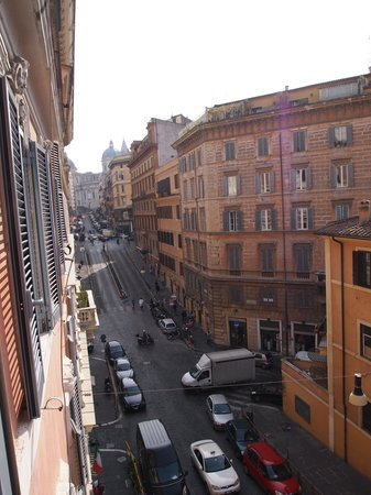 Hotel De Monti: view from room