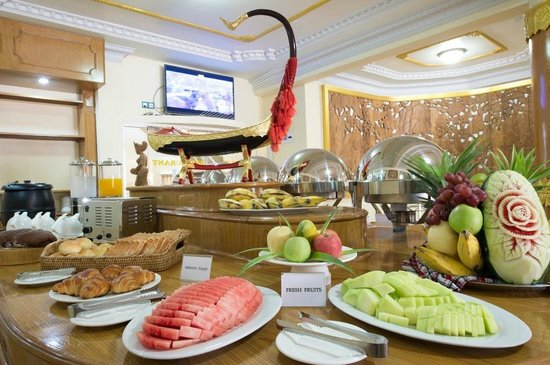Smart Hotel: Myanmar Traditional and English Breakfast Buffet