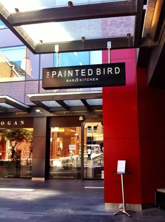 The Painted Bird Bar & Kitchen : Behind the Church in Wesley Quarter