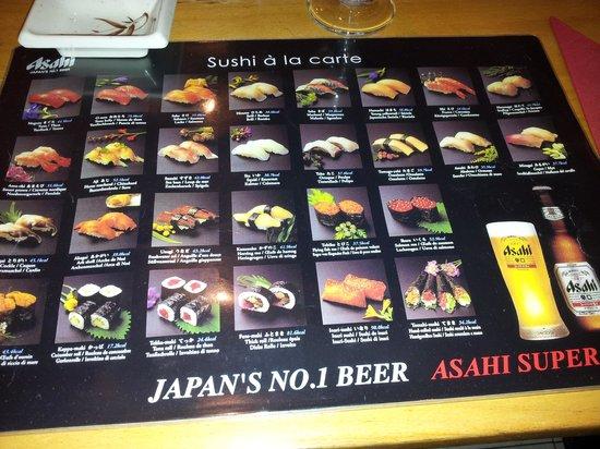 Natsu: La tovaglietta menù