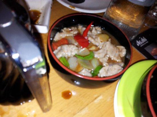 Natsu: Spaghetti di riso nel menù