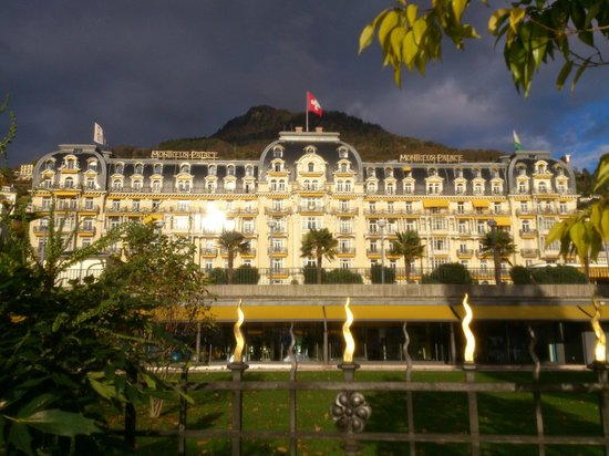 Grand Hotel Suisse Majestic : Montreux - Palace