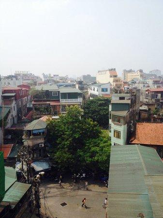 Hanoi Tirant Hotel : View from balcony